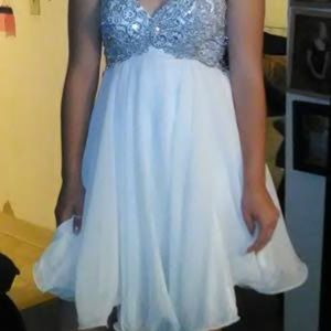 homecoming dress and shoes